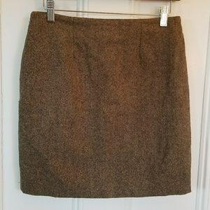 Gap Stetch Tweed Skirt